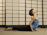 Pilates Instructor Working Out