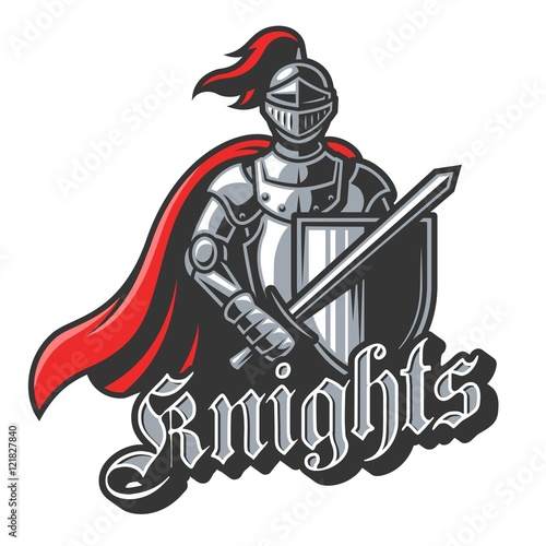 Knight sport logo in color