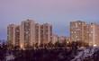 Housing estate night