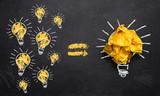 viele kleine Ideen führen zu einer großen Innovation