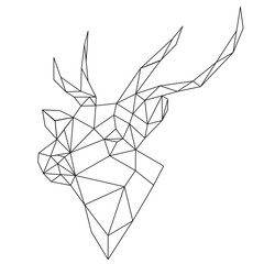 abstract deer