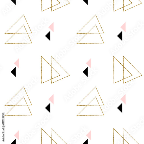 Seamless Geometric Pattern - 121915496