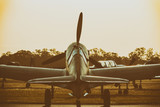 Warbird at Dusk