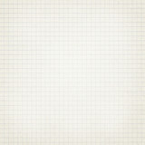 Squared light grey, white copybook, notebook paper texture - 121936416