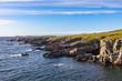 Rocky coastline near Cape Bonavista, Newfoundland