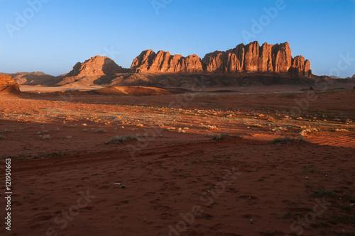 Poster Alba sul Wadi Rum