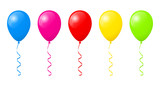 Colorful balloons - 121962098