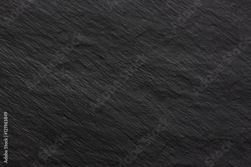 Dark black slate background or texture - 121963849