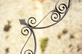 Detail of wrought iron working