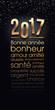 Carte de vœux 2017 - Vecteur cmjn