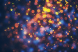 Fototapety Abstract colorful bokeh lights background
