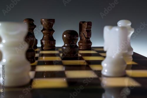 Poster Schachspiel