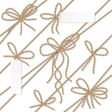 Rope bows, ribbons and labels - 122025256