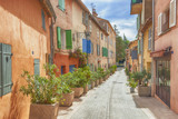 the streets of Saint-Tropez