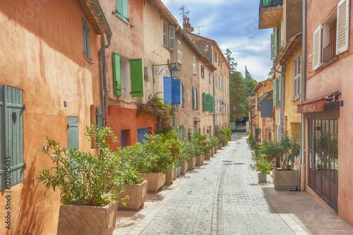 Fototapeta the streets of Saint-Tropez