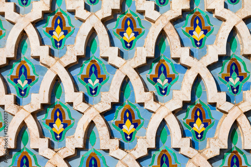 Hassan Mosque design Poster