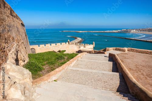 Spoed canvasdoek 2cm dik Marokko Rabat in Morocco