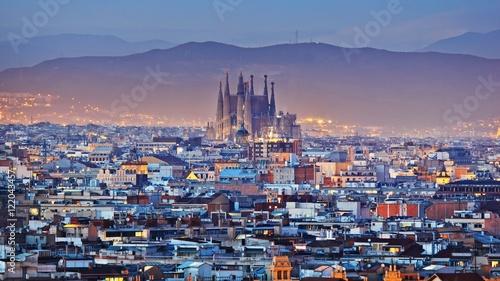 Papiers peints Barcelone PANORAMA BARCELONA