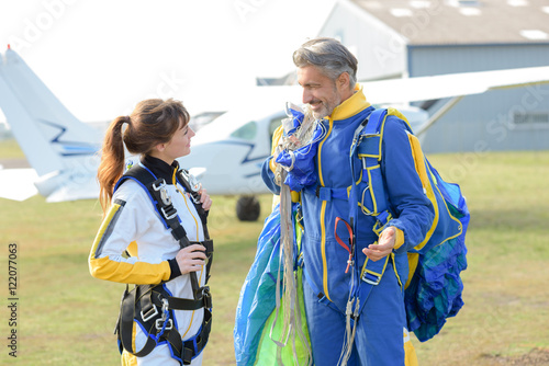 conversation after the skydive