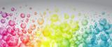 Rainbow color bubbles - 122090626