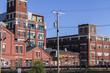 Abandoned Industrial Factory - Urban Desolation, Worn, Broken an