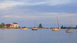 Quiet Harbor in the Evening
