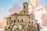 Вид на православную церковь Панагии Теоскепасти, седьмой век, Пафос, Кипр