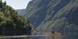 Kayaking in Gros Morne National Park, Trout River Pond, Newfound