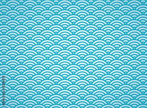 和柄 青海波