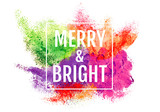 Fototapety Colorful Christmas background