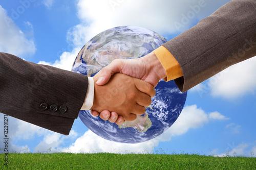 Poster 握手