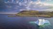 Iceberg in Bay in Newfoundland