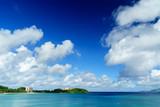 沖縄 名護の空と海
