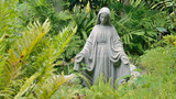 Mary in the Garden - 122272840