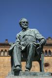 Giuseppe Verdi statue Busseto