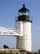 Постер, плакат: Marshal Point Lighthouse in Port Clyde Maine