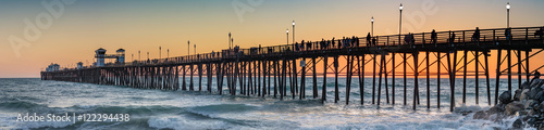 Oceanside Pier at Sunset - 122294438