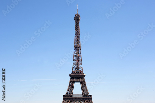Poster Eiffel tower.