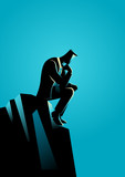Businessman Thinking...
