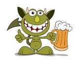 Funny devil