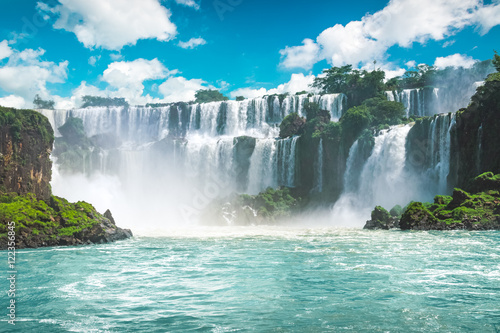 The amazing Iguazu waterfalls in Brazil - 122356845