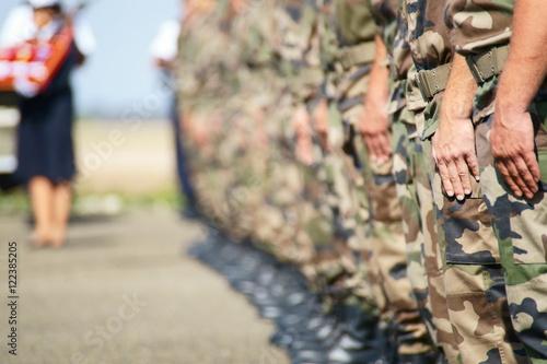 Poster Cérémonie Militaire