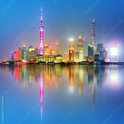 Shangahi skyline, China. Poster