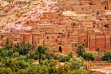 Ait Benhaddou clay kasbah town, Morocco