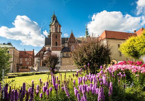 Zdjęcia na płótnie, fototapety na wymiar, obrazy na ścianę : Wawel cathedral in Krakow, Poland