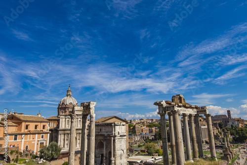 Staande foto Rome Roman forum