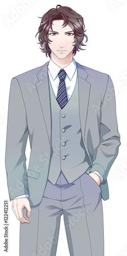 スーツの男性 - 122412251