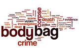 Body bag word cloud