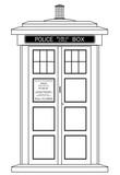 Old Fashioned British Police Box