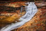 Autumn Waterfall on Mumlava River